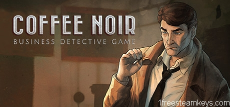 Coffee Noir – Business Detective Game steam key free
