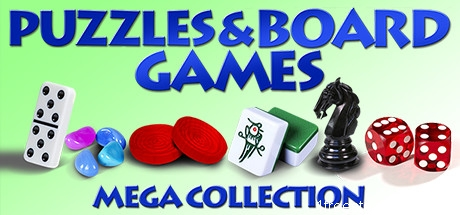 Puzzles and Board Games Mega Collection
