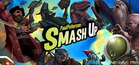 Smash Up: Conquer the bases with your factions steam key free